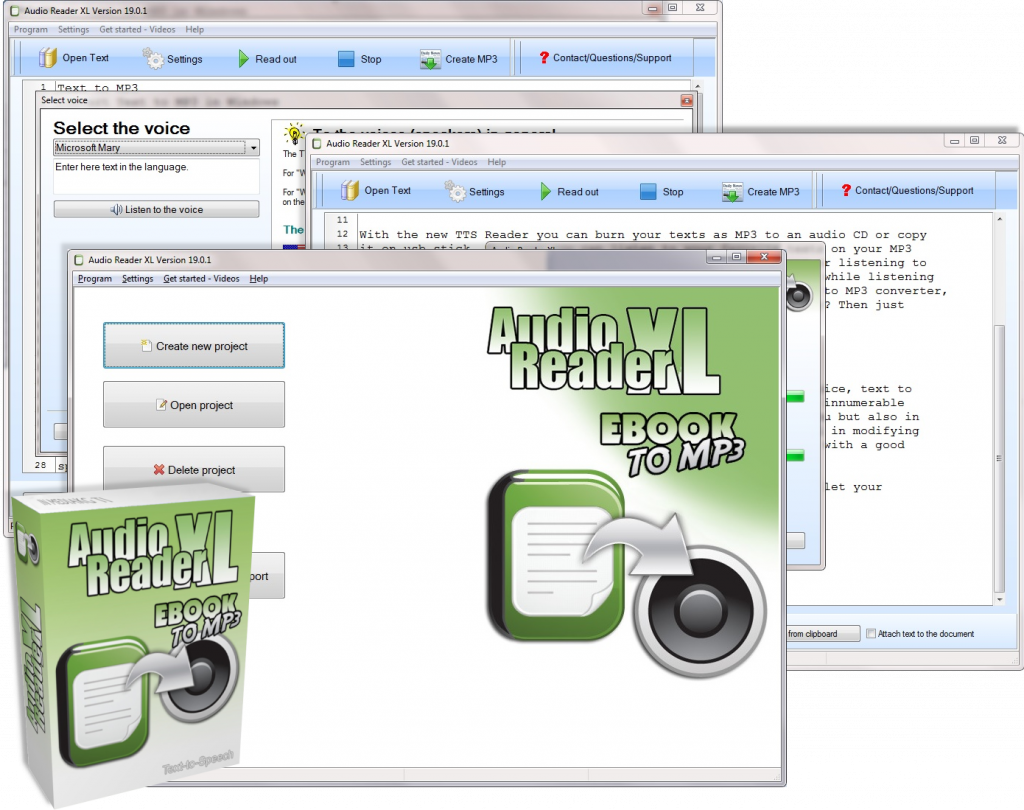 Text Reader Software