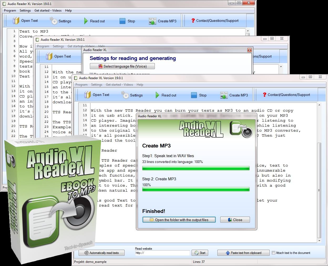 TTS software
